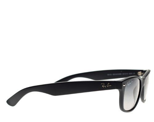 ray ban rb 2132 90158 new wayfarer black green polarized frame size
