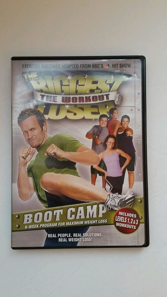 The Biggest Loser - The Workout: Boot Camp (DVD, 2008) | DVDs & Movies, DVDs & Blu-ray Discs | eBay!