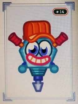 Judder the Unhinged Jackhammer is a rare Noisies category of the Moshlings Zoo moshling that you can unlock by completing Season Two Super Moshi...