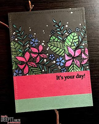 Card by Deepti for {Inspiration Project Post #155}