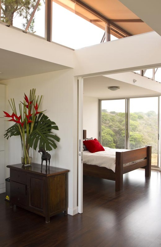 Shipping container house in Costa Rica.