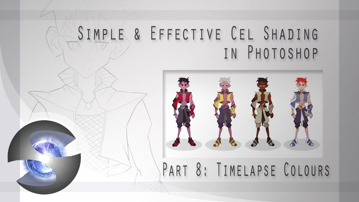 Simple Character Design Tutorial : Best images about tutorials soft cell shading on