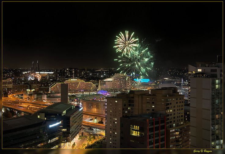 Fireworks Darling Harbour