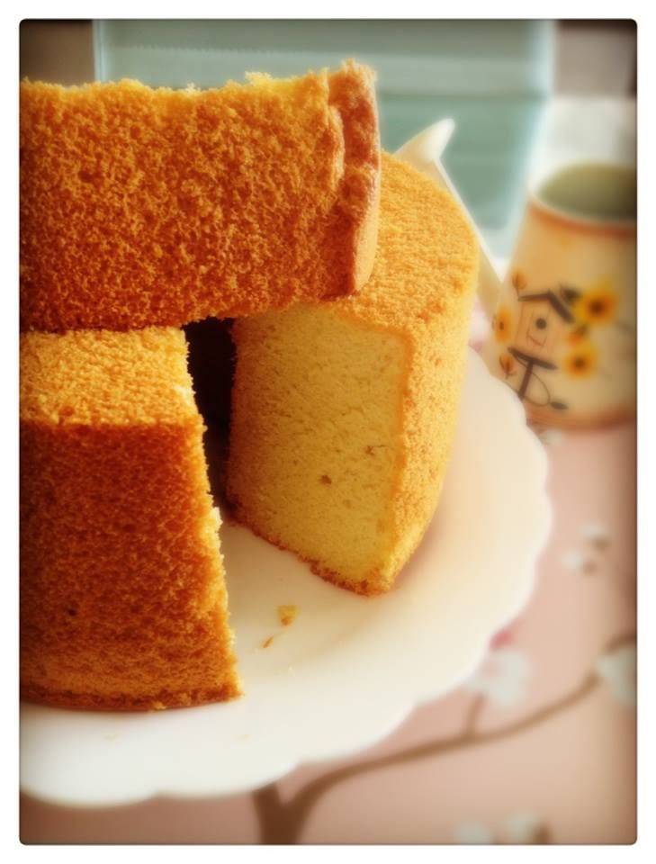 Culinary Kitchenette: Gula Melaka Chiffon Cake By Amanda Tay