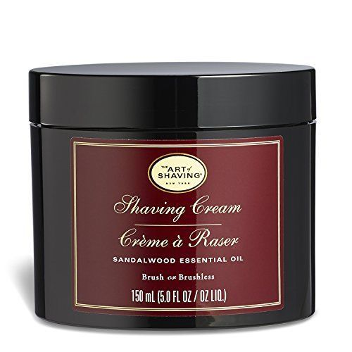 The Art Of Shaving Mens Shaving Cream Sandalwood Protect Skin Razor Burn 5 Oz. #TheArtofShaving