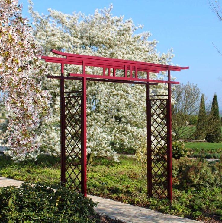 Japanischer Torbogen Traditionelle Gartendekoration Im Asia Style Mehr Dazu Im Shop In 2020 Asiatischer Garten Zen Garten Gartendekoration