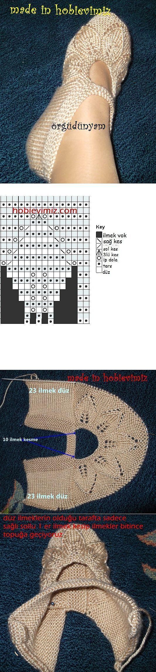 Туфельки. | вязание | Постила:
