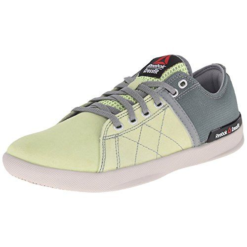 Reebok Womens RCF Lite Lo TR Poly Training Shoe Citrus GlowSilvery  GreenFlat GreySteel 10 M US