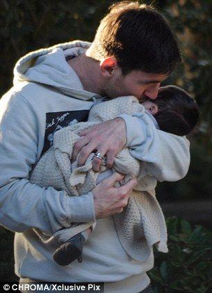 Leo Messi & Thiago <3 <3 <3  So sweet.  I love it.