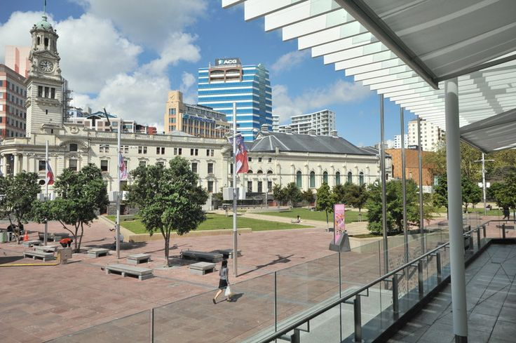 Flexjoint products used in the remedial waterproofing of Aotea Square, Auckland NZ