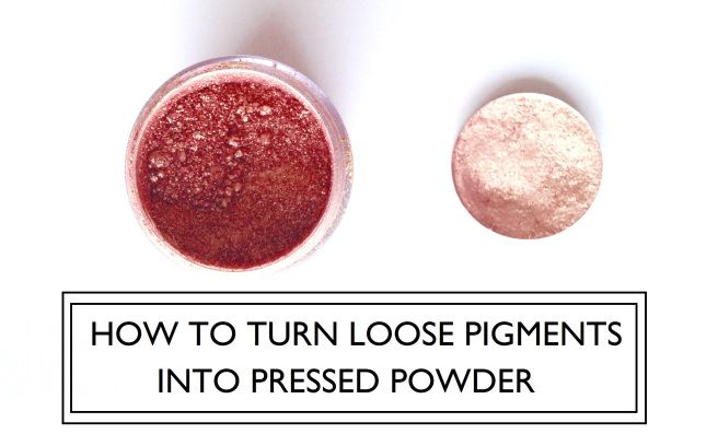 Loose Pigment to Pressed Powder