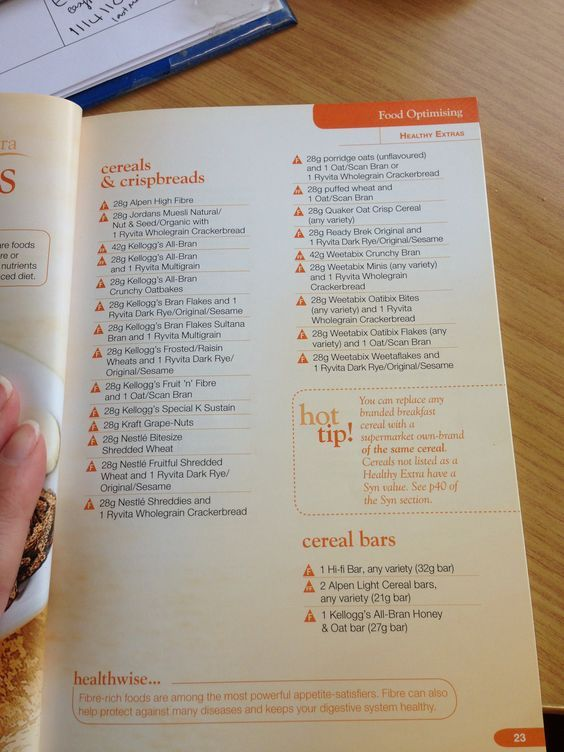 Image Result For Slimming World Extra Easy Healthy Extra B