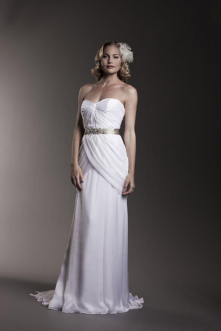 46 best Grecian Style Wedding Dresses images on Pinterest | Wedding ...