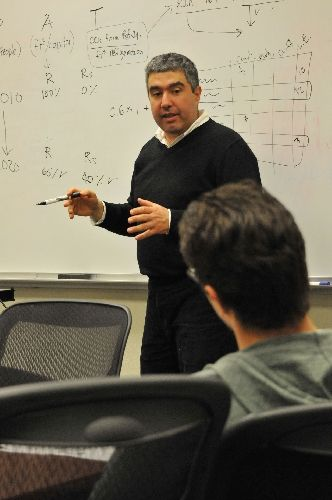 Professor says students' passion helped him earn national award