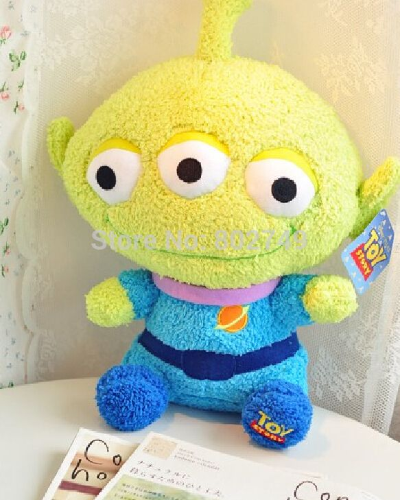==> [Free Shipping] Buy Best Pixar Toy Story Plush Figure Alien Plush Toys 30cm Online with LOWEST Price | 32265363279