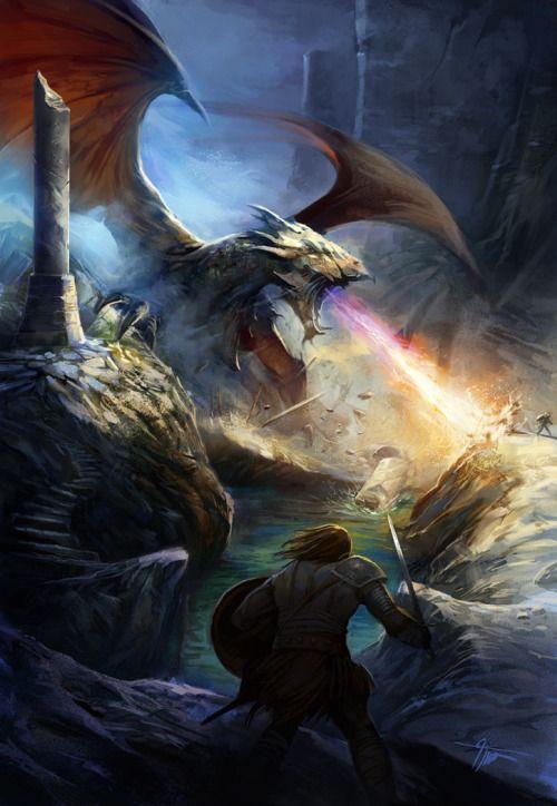 Fantasy concept art, By artist Grzegorz Krysinski.