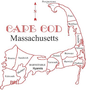Best Cape Cod Map Ideas On Pinterest Map Of Cape Cod Cape - Cape cod location us map