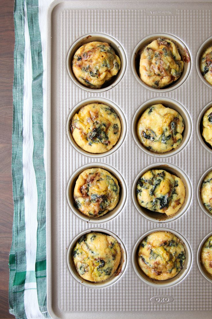 Meal Planners Will Love These Umami-Bomb Cheesy Kale Egg Muffins