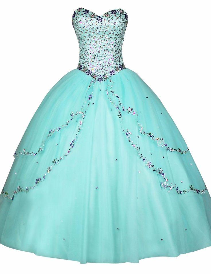 Mint Green Quinceanera Dresses