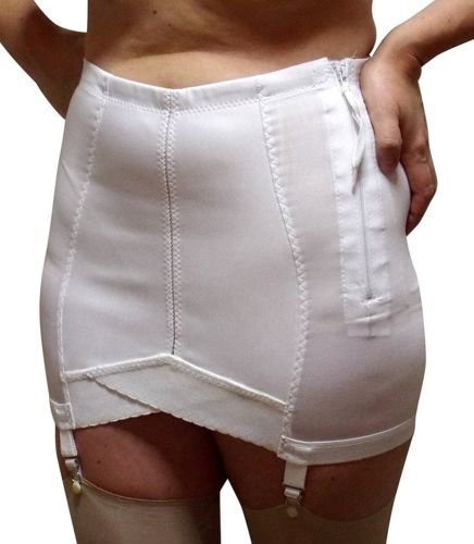 Crown-ette-Vintage-New-Open-Girdle-X-Plus-Sizes-5XL-9XL-3-Lengths-Made-In-USA