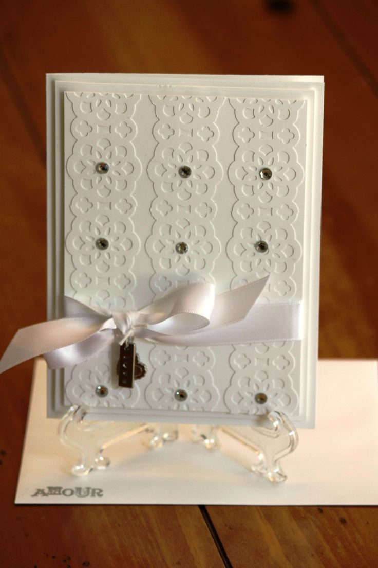 How to scrapbook wedding cards - Creative Stampin Up Ideas Cards Scrapbooking From Katherine Pritchard Another Wedding Sample