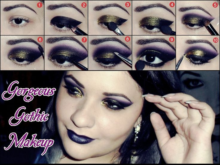 Goth Makeup Tutorial - Mugeek Vidalondon