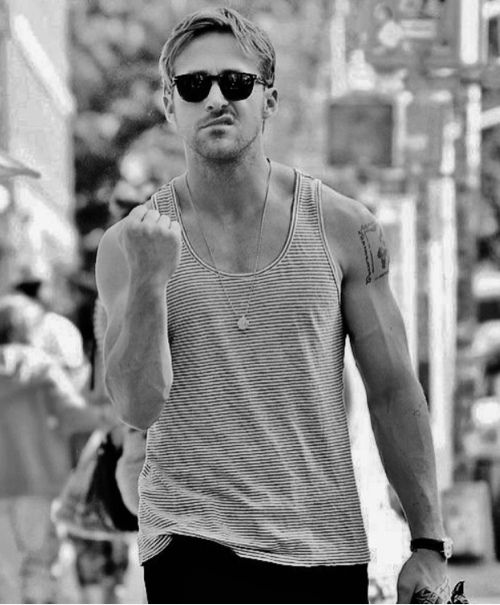 Thank you Pinterest for giving me a taste of Ryan Gosling err day all day....