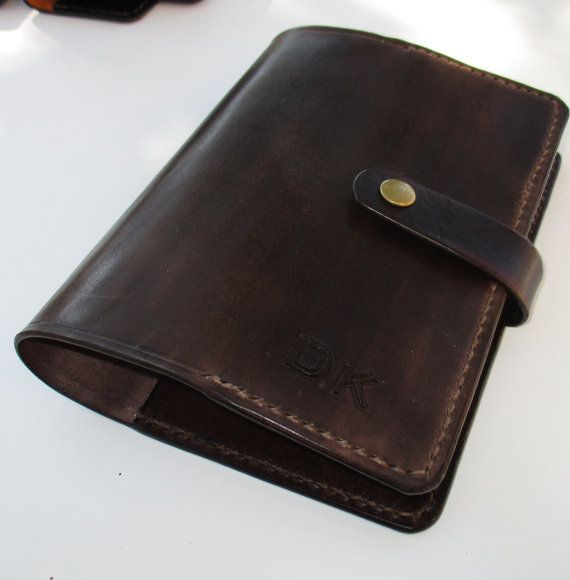 Personalized Leather Journal. Embossed Diary. Book by BJCleather