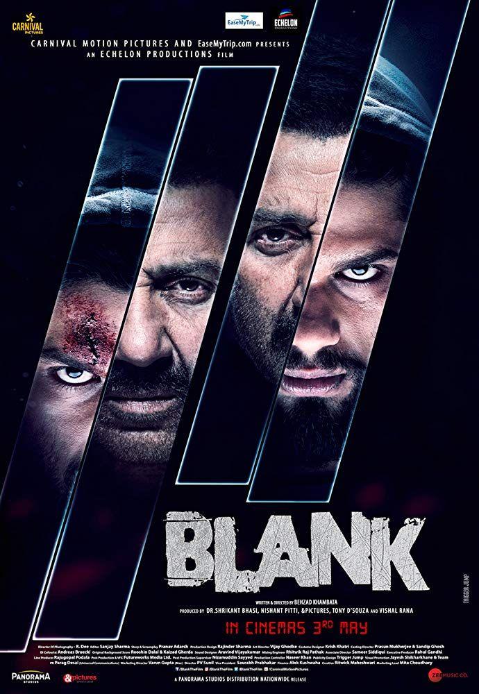 Blank (2019) Hindi Full Movie Watch Online HD Print Free