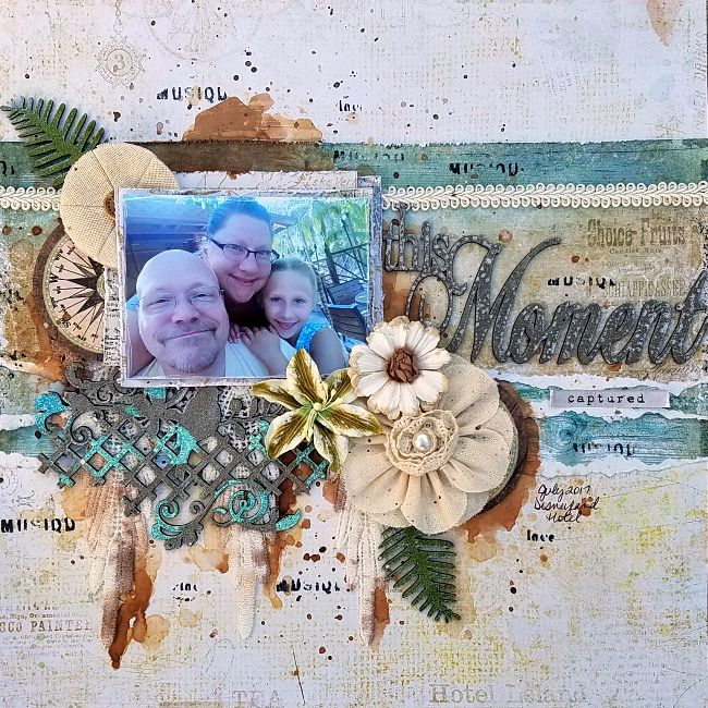 A Stash of Pretty Paper: Blue Fern Studios - This Moment