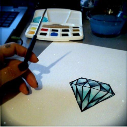 DIAMOND  tattoo diary