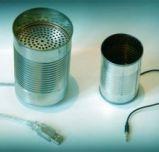 vintage FUN, IP tin can phone