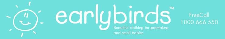 Beautiful clothing for premature and small babies