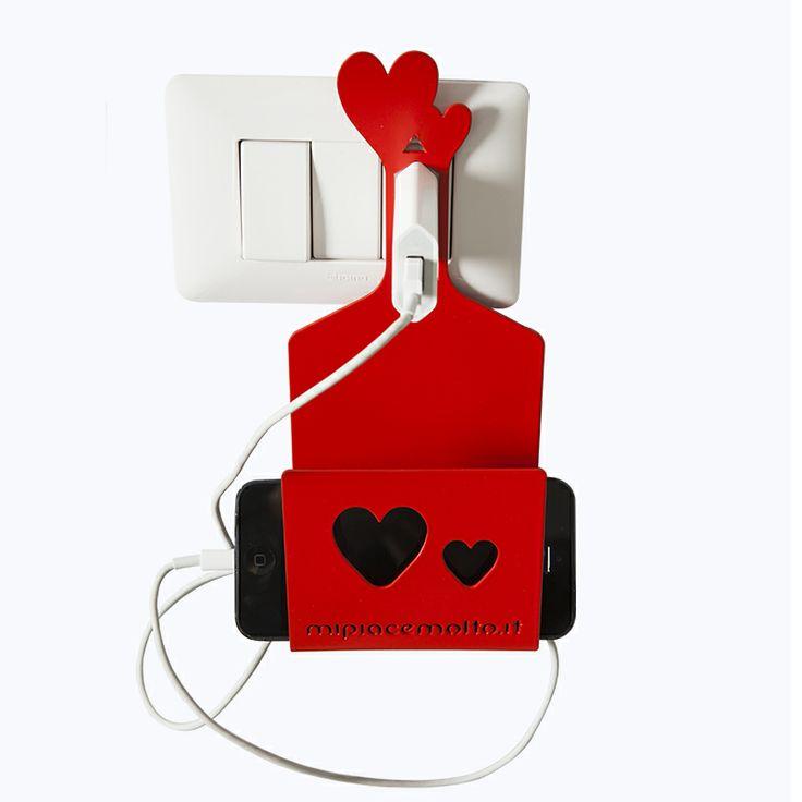 LOVE UP supporto per telefono cellulare da presa elettrica multiuso