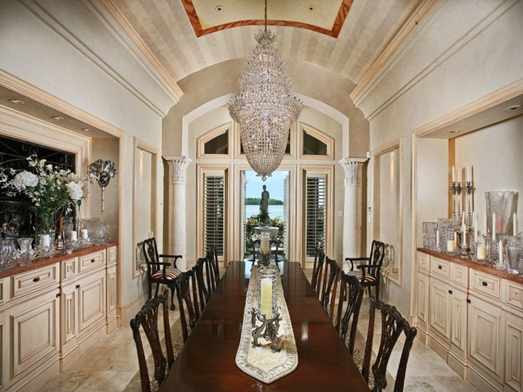 Luxury Dining Room, Dining Rooms, Marco Island, Elegant Dining, Fine Dining,  Luxury Homes, Flare, Fields, Florida