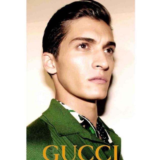 "gucci men show! Hair ""@LuigiMurenu:"