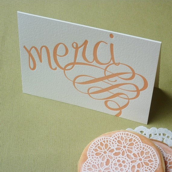 Remember to say please and thank you #stationary #thankyou: Wedding Inspiration, Tables Tent, Peaches Colors, Tables Cards, Thank You Cards, Note Cards, Thanks You Cards, Green Wedding, Style Ideas