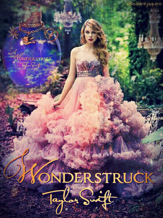 Taylor Swift Wonderstruck Perfume Poster Edit By Claire Jaques