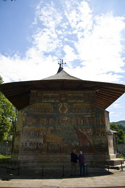 Voronet Monastery, UNESCO World Heritage Monument from Bucovina, Romania. For information about tailor made tours in Romania, feel free to contact me by email: mihaijoimir@gmail.com or by phone: 0040 755 195 430