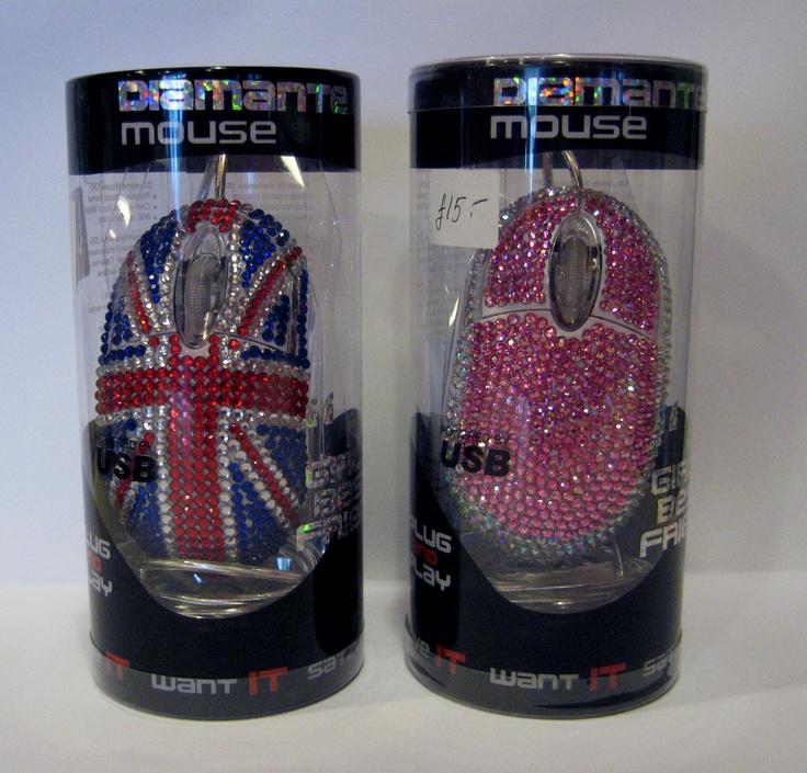 Satzuma Diamante USB Optical Wired Mouse (Various) £15.00