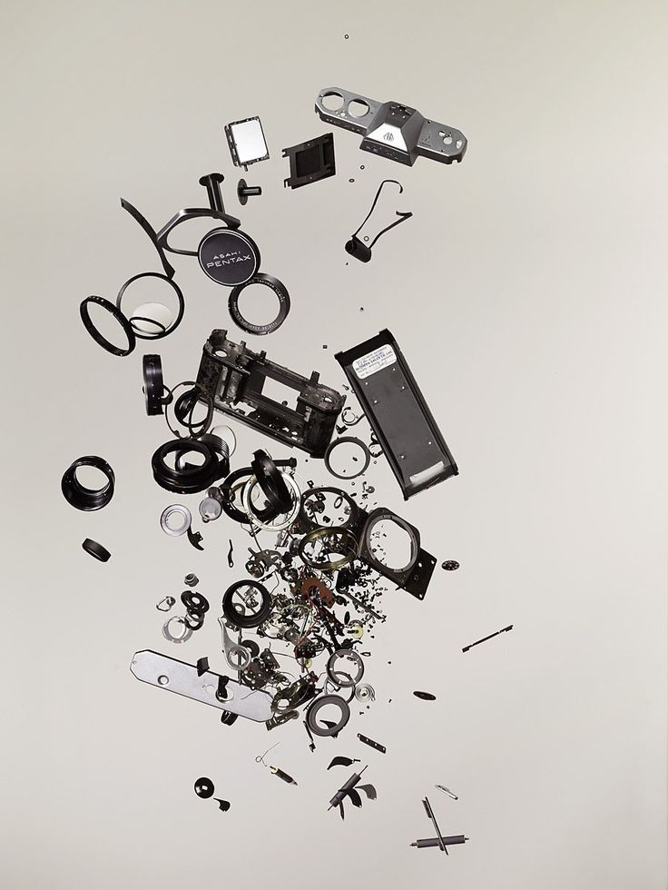 From Todd McLellan's book, Things Come Apart.  A reminder of the degree of engineering present in everyday objects!