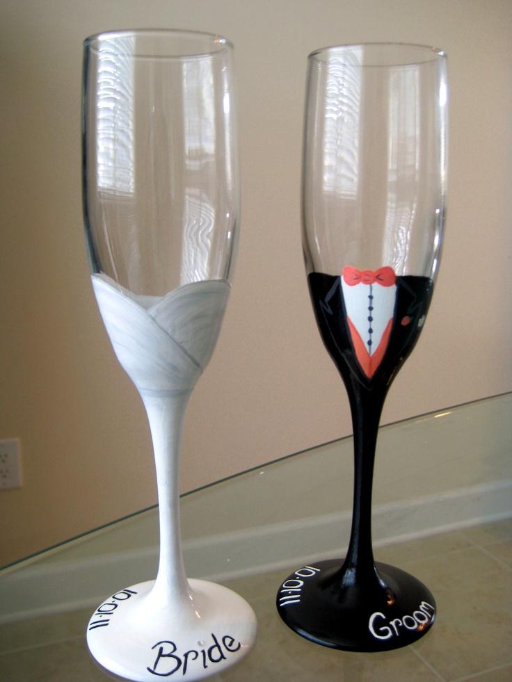 Bridal Toasting Glasses