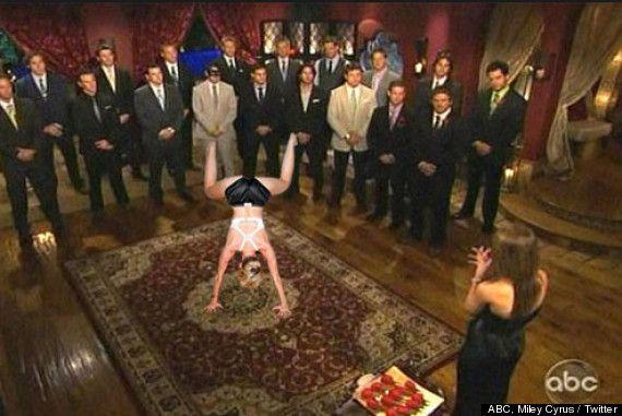 Miley Cyrus Twerking On Things - bachelorette