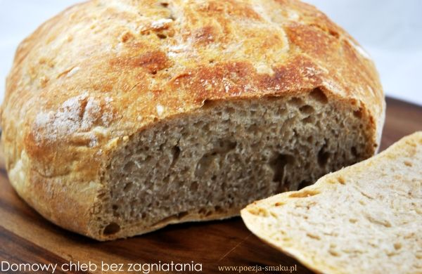 Chleb bez zagniatania
