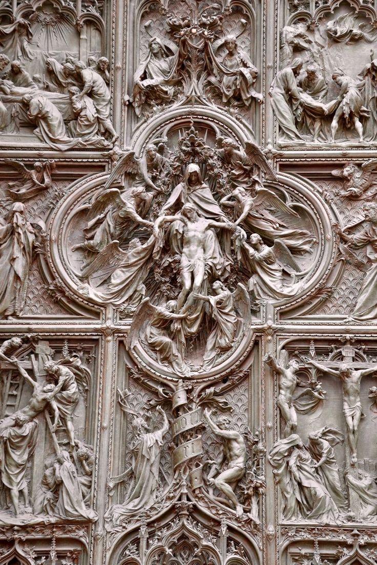 Duomo Facade, Milano, Italy by The Art of Creativity Studio