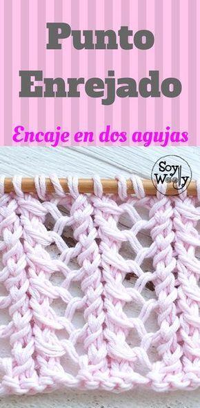 Como tricotar a Malha: encaixe em duas agulhas