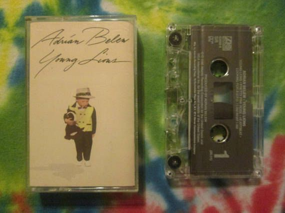 Adrian Belew Young Lions Cassette Tape