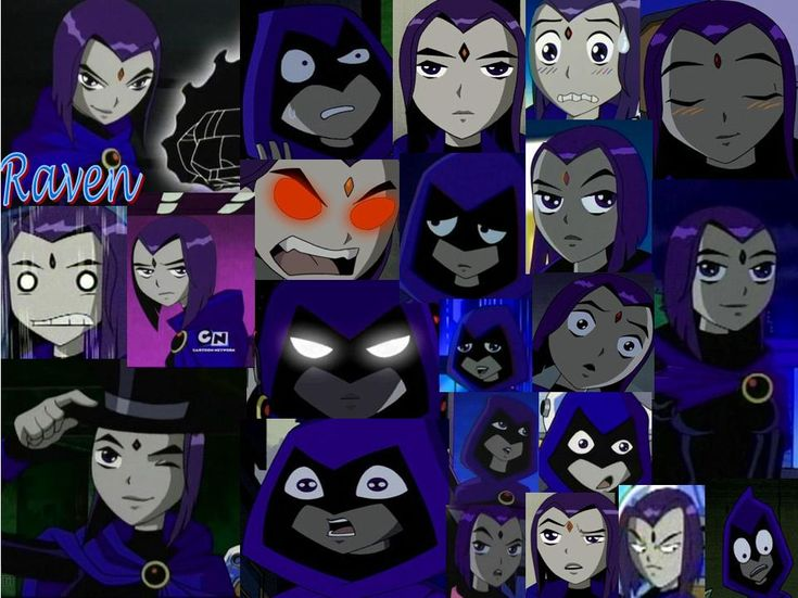 young+justice+raven | Teen Titans vs. Young Justice Raven