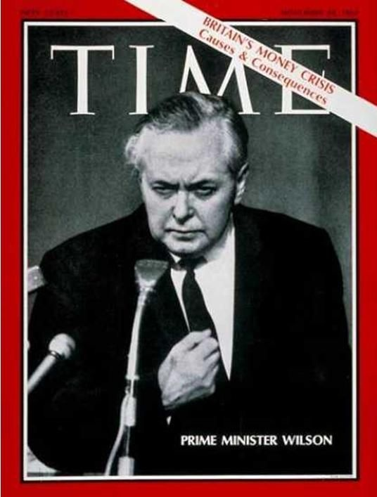 Harold Wilson, Prime Minister of the United Kingdom of Great Britain & Northern Ireland, 1964-1970