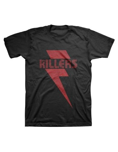 The Killers Red Bolt Mens T-Shirt - Guaranteed Authentic.  Fast Shipping.